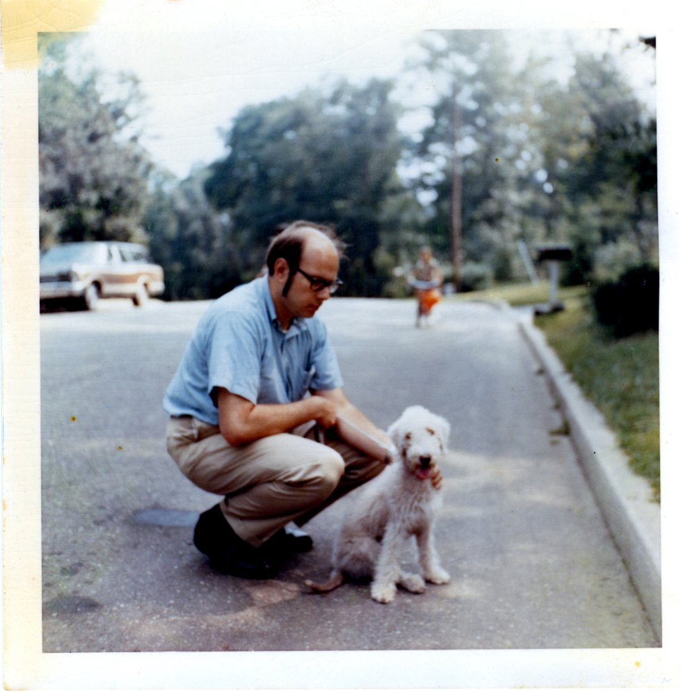 Jerry Singer and Bookie, Long Island New York, Circa 1970